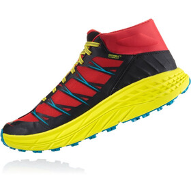 Hoka One One Speedgoat Mid WP Scarpe da corsa Uomo, chinese red/caribbean sea